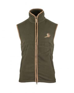Countryman Fleece Gilet with Pheasant
