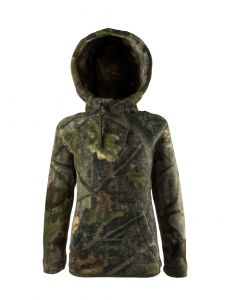 Jack Pyke Junior Fieldman Fleece Hoodie English Oak Evolution