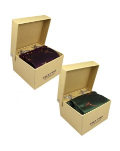 Jack Pyke Tie, Hanky and Cufflinks Gift Set - Pheasant