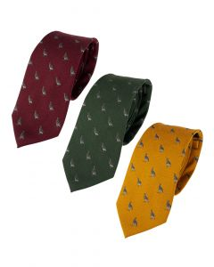 Jack Pyke Partridge Silk Tie