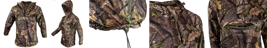 Jack Pyke Galbraith Smocks - overall view and a few features close up