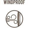 Windproof icon