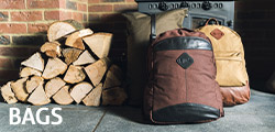 photo of the bags showing latest canvas range bags from Jack Pyke